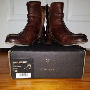 "Frye Women's ""Melissa"" Short boot. Size 7.5"